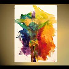 modern artwork thumbnail abstract giclee print on canvas