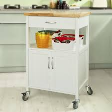 Kitchen Cabinet With Wheels Sobuy Office Storage Cabinet With Drawer And Wheelskitchen