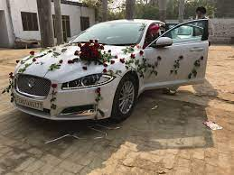 Rental Wedding Cars In Punjab White Jaguar For Rent In India Punjab Patiala Wedding Car Vintage Car Wedding Luxury Car Rental