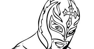 How To Draw Wwe Rey Mysterio Mask How To Draw Wwe Rey Mysterio Mask