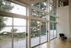 modern aluminum sliding doors