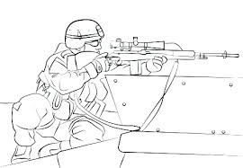 Military Coloring Page Royaltyhairstorecom