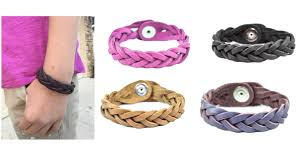essential oils leather bracelets lightning deal