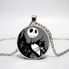 Mens necklace <b>The Nightmare Before</b> Christmas Cartoon Necklace ...