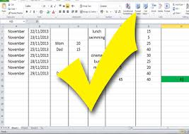 How To Make An Excel Spreadsheet For Budget How To Build A Budget Spreadsheet Teenagers 13 Steps