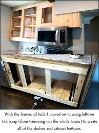 diy kitchen cabinets how one person built all of their kitchen cabinets diy kitchen cabinets painting diy kitchen cabinets