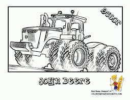 Small Picture Coloring Pages John Deer Tractor Coloring Page Free Printable