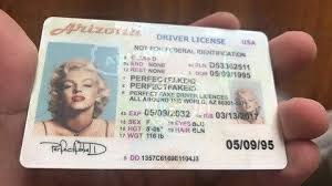 Id Arizona Drivers Template License