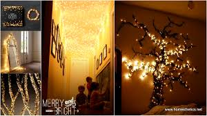 lighting diy. 27 Incredibly Magical DIY Christmas Lights Decorating Projects Lighting Diy
