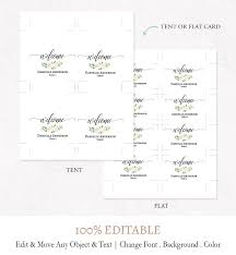 Place Cards Template For Word Place Cards Template Typewriter Card Printable Escort