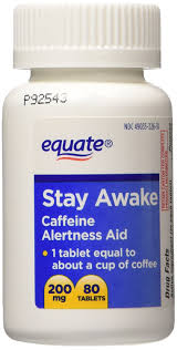 amazon com equate stay awake compare to vivarin alertness amazon com equate stay awake compare to vivarin alertness aid caffeine maximum strength 80 tablets health personal care