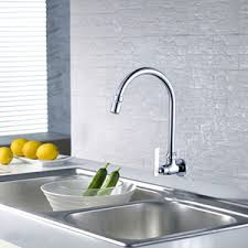 Small Picture Wall Mount Kitchen Faucet