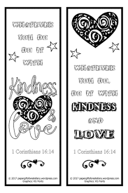 Whether it's halloween, christmas, easter or any other occasion, the printable bookmarks enlisted here have got you covered. Kindness Love Free Scripture Doodles Bookmarks To Colour Bible Bookmark Coloring Bookmarks Free Printable Bookmarks