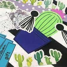 Diy Cactus Bulletin Board Fun365