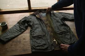 re wax your barbour jacket