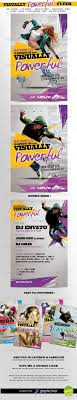 two sided flyer template free visually powerful flyer template double sided flyer template