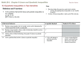 linear vs quadratic math math 1 chapter 9 linear and quadratic inequalities linear quadratic equation calculator
