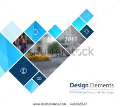 Vector Design Element for graphic layout. Abstract background template with  squares and arrow for business