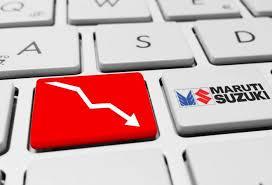 Maruti Suzuki Share Price Chart Maruti Suzuki Share Price Falls 2 2 Post Q2 Earnings