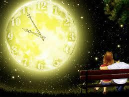 7art full moon clock screensaver make