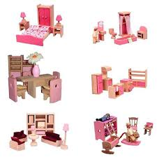 plastic dollhouse furniture sets. Dollhouse Furniture Sets Cheap Get Quotations A Pink Wooden Dolls House Set 6 Rooms 4 Plastic