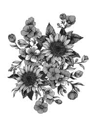 tumblr transparents black and white flowers. Plain Tumblr Flower Png Tumblr Black Transparent  Intended Tumblr Transparents Black And White Flowers U