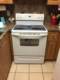 glass top frigidaire stove ed home improvement
