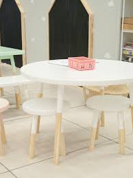 kids furniture set round table simply child interiors