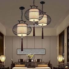 oriental lighting. Image Is Loading MODERN-ASIAN-ORIENTAL -WROUGHT-IRON-HANGING-TASSEL-CHANDELIER- Oriental Lighting B
