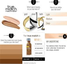 loreal true match app find your shade osochic