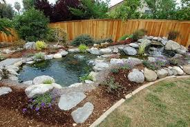 Small Picture Amazing Backyard Pond Design Ideas Rilane