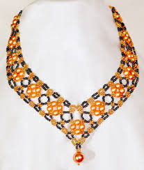 Beaded Necklace Patterns Amazing Free Pattern For Beautiful Beaded Necklace Margaret Beads Magic