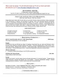 Child Care Provider Resume - Resume Examples pertaining to Child Care  Provider Resume 5690