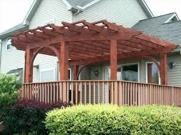 garden diy patio roof diy gazebo kits uk wooden pergola with glass
