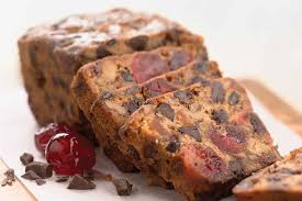 Chocolate Cherry Berry Fruitcake Recipe King Arthur Flour