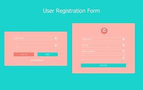 Customer Form Template Customer Registration Form Template Html Puntogov Co