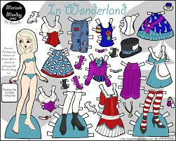 lolita archives • paper thin personas alice in wonderland color printable paper doll