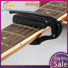 <b>Guitars</b> Universal <b>Aluminium</b> Alloy Metal New <b>Guitar Capo</b> Quick ...