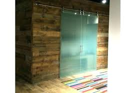 frosted glass sliding barn door closet doors wardrobe interior with etched ba glass barn doors