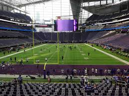 Us Bank Stadium View From Section 119 Vivid Seats