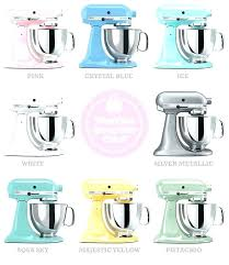 mixer stand mixers in pastels crystal blue pink majestic yellow aqua sky ice kitchenaid hand target