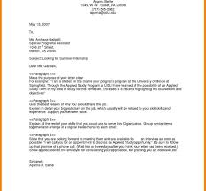 Samples General Cover Letters Resume Letterample Job Application