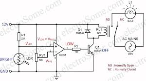 Automatic Light Operated Switch Using Ldr And Ic 741 Automatic Night Lamp Using Ldr
