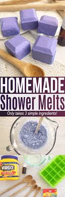 this shower melts recipe is an easy diy using simple ings at home if you
