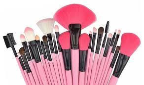cosmetic brush set. make up brush set cosmetic