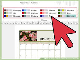 Microsoft Publisher Calendar Templates 2015 3 Ways To Design A Calendar In Microsoft Publisher Wikihow