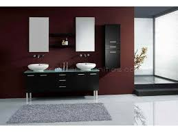 White Double Bathroom Vanities Fair Decorating Ideas Using Refurbished Bathroom Vanities