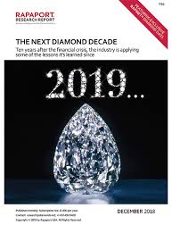 Rapaport Diamond Report Rapaport Creating Ethical Transparent Competitive And