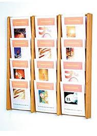 magazine rack office. ac3412 12 slot wall mounted magazine rack office