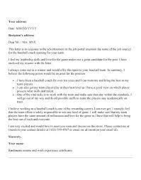 Best Ideas Of Resume Cover Letter Examples For Coaching Fabulous